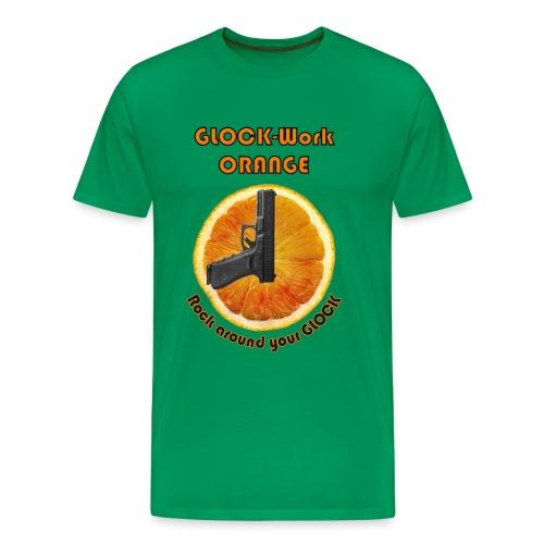 GLOCK-Work Orange - Männer Premium T-Shirt
