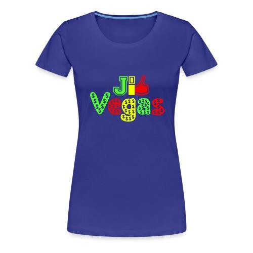 J'aime Vegas je like Vegas - Women's Premium T-Shirt