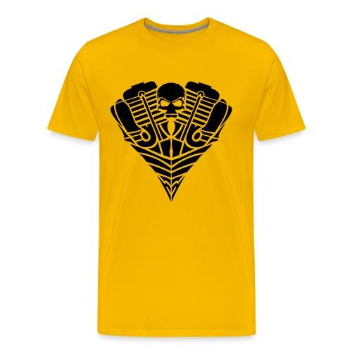 Rebel Skull - Männer Premium T-Shirt