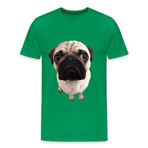 Männer Shirt Mops Blick - Männer Premium T-Shirt