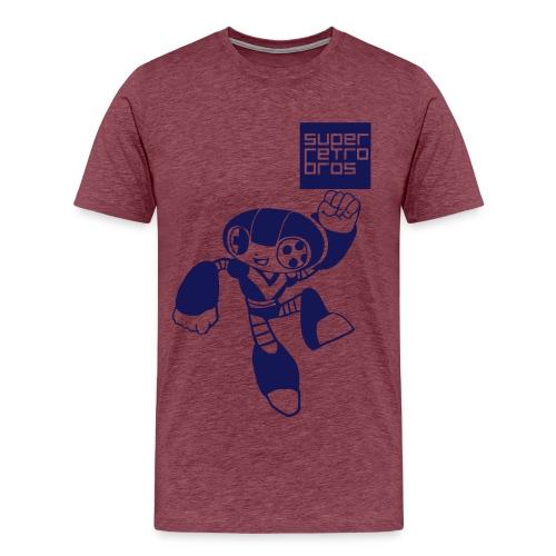 Purple Face - Premium-T-shirt herr