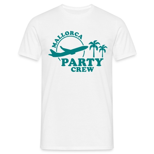 Mallorca Party Crew - Männer T-Shirt