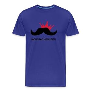 Moustachequeen - Männer Premium T-Shirt