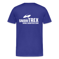 T-shirts ~ Herre premium T-shirt ~ SnowTrex Shirt royal