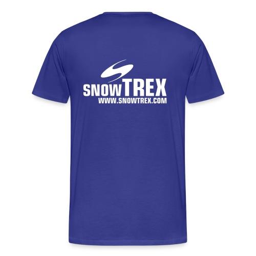 SnowTrex Shirt royal - Männer Premium T-Shirt
