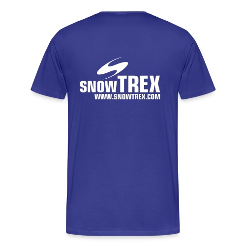 SnowTrex Shirt royal - Herre premium T-shirt