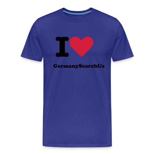 I love GermanySearchUs Boys  - Männer Premium T-Shirt