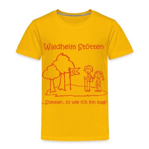 Kinder T-Shirt gelb - Kinder Premium T-Shirt