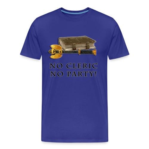 No Cleric No Party - XY - Maglietta Premium da uomo