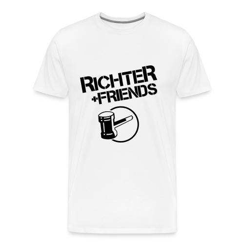 RICHTER+FRIENDS BigShirt, white - Männer Premium T-Shirt