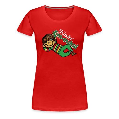Kinder Em-eukal® Shirt - Damen - Frauen Premium T-Shirt