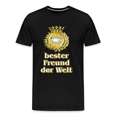 bester freund der welt goldene serie t shirt spreadshirt. Black Bedroom Furniture Sets. Home Design Ideas
