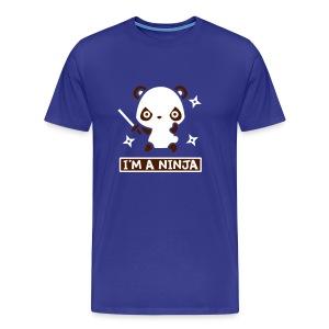 Ninja Panda - Men's Premium T-Shirt