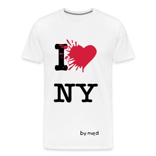 ny by med - T-shirt Premium Homme