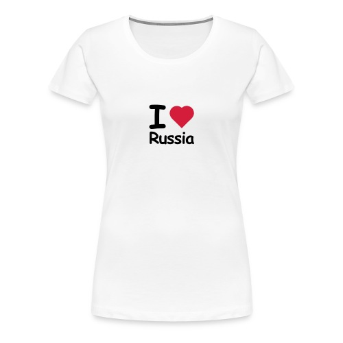 russian attributes - Women's Premium T-Shirt