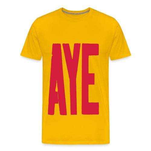 AYE T-shirt - Men's Premium T-Shirt