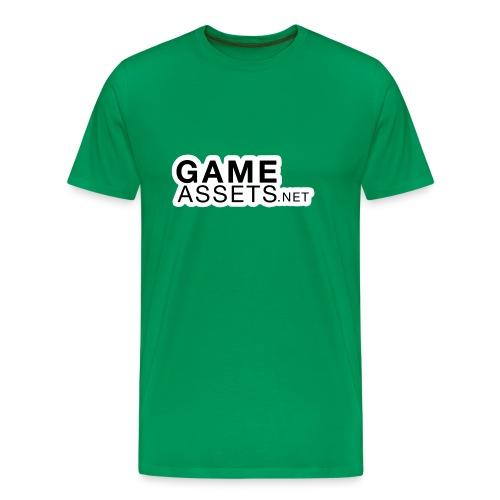 GameAssets.net Logo Front - Men's Premium T-Shirt