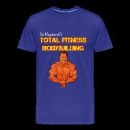 T-Shirts ~ Men's Premium T-Shirt ~ Lee Hayward Cartoon Muscle Classic-Cut T-shirt