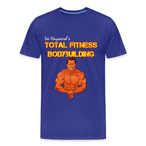 Lee Hayward Cartoon Muscle Classic-Cut T-shirt - Men's Premium T-Shirt