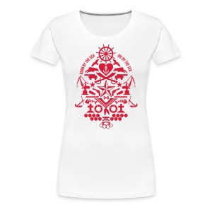 Lady Born by the Sea - Frauen Premium T-Shirt