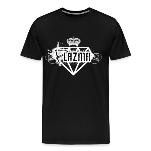 Plazma-Logo Shirt [Purple] - Männer Premium T-Shirt
