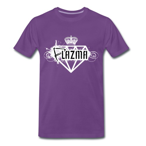 Plazma-Logo Shirt [Purple] - Männer Premium T-Shirt