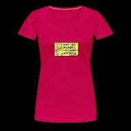 T-Shirts ~ Women's Premium T-Shirt ~ Peppy: Don't Hate Mondays