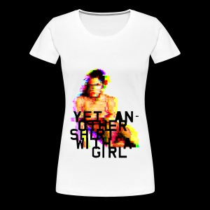 Shirt with a Girl - Women's Premium T-Shirt