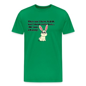 ADD bunny - Mannen Premium T-shirt