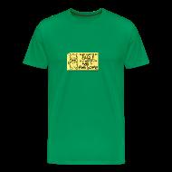 T-Shirts ~ Men's Premium T-Shirt ~ Peppy The Inspirational Cat3