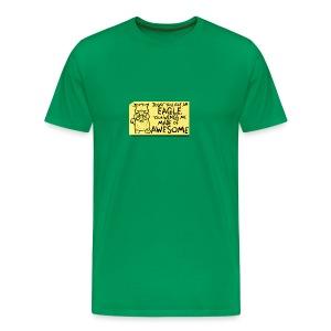 Peppy The Inspirational Cat3 - Men's Premium T-Shirt