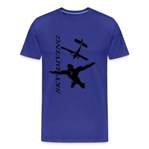 Sky Diving - T-shirt Premium Homme