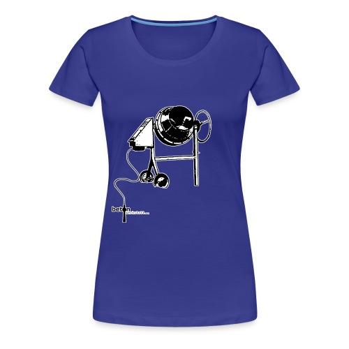 T-Shirt mit rundem Ausschnitt Betonwerkstatt Women - Frauen Premium T-Shirt