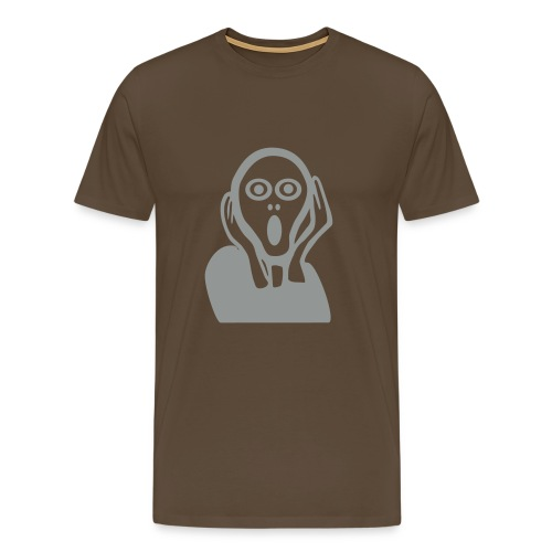 De Schreeuw - Mannen Premium T-shirt