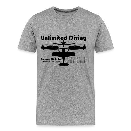 Unlimited Diving - T-shirt Premium Homme