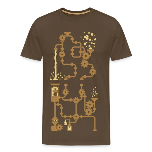 Distille, klassisches T-Shirt - Männer Premium T-Shirt