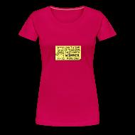 T-Shirts ~ Women's Premium T-Shirt ~ Peppy: Winner