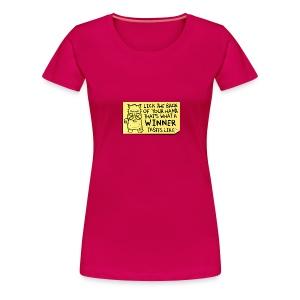 Peppy: Winner - Women's Premium T-Shirt