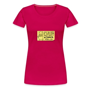 Peppy: Winner - Women's Premium T-Shirt