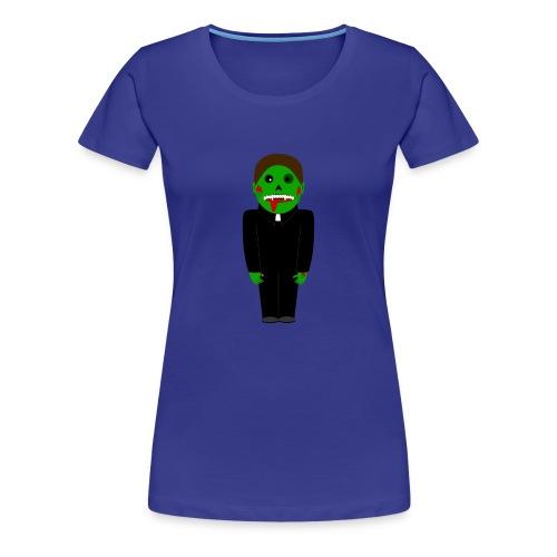 Zombie Vampire Priest T-Shirt - Frauen Premium T-Shirt