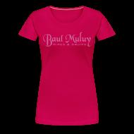 T-Shirts ~ Frauen Premium T-Shirt ~ Girlieshirt mit Glitzerdruck, pink