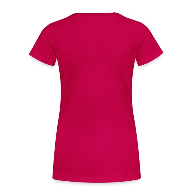 Girlieshirt mit Glitzerdruck, pink