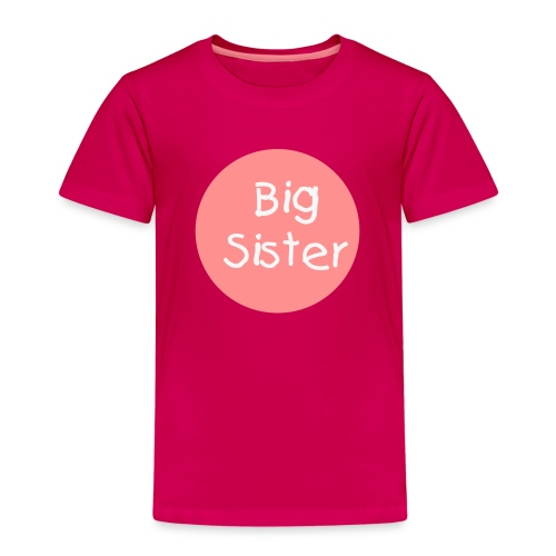 Big Sister Tee - Kids' Premium T-Shirt