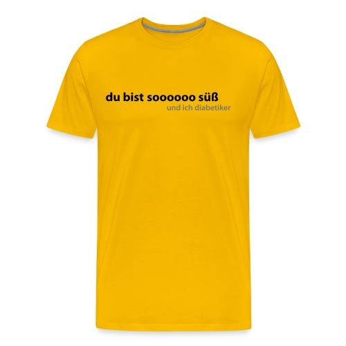 Diabetiker - Männer Premium T-Shirt