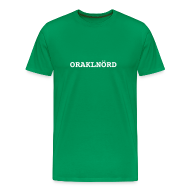 T-Shirts ~ Men's Premium T-Shirt ~ ORACLENERD Classic - German Edition
