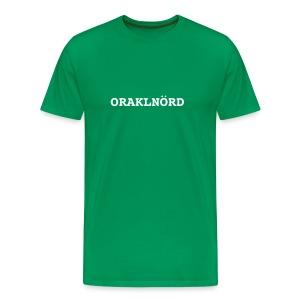 ORACLENERD Classic - German Edition - Men's Premium T-Shirt