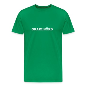 ORACLENERD Classic - German Edition - Men's Premium T-Shirt