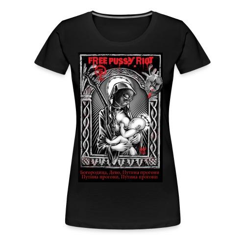Free Pussy Riot! Oversize - Frauen Premium T-Shirt