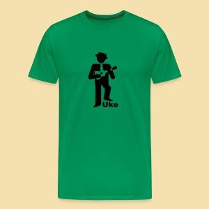 ShirtUkePlayer - Männer Premium T-Shirt