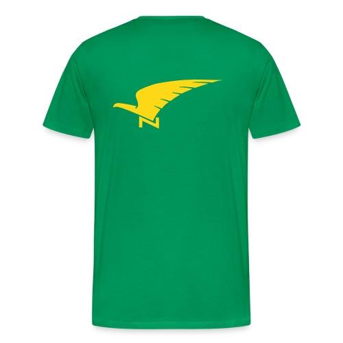 Tshirt vert armée SNCAN Stampe - T-shirt Premium Homme